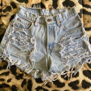 Vintage Levi's 560 Jean Shorts